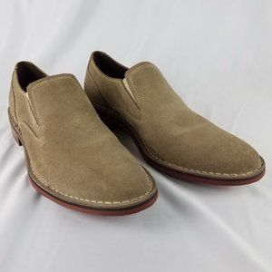Cole Haan Canton 2 Gore 2 Slip On Suede Loafers